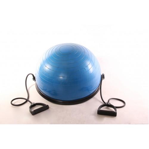 9b9a90577c469 Meia Bola Para Pilates E Yoga Com Extensores - Bola Bosu